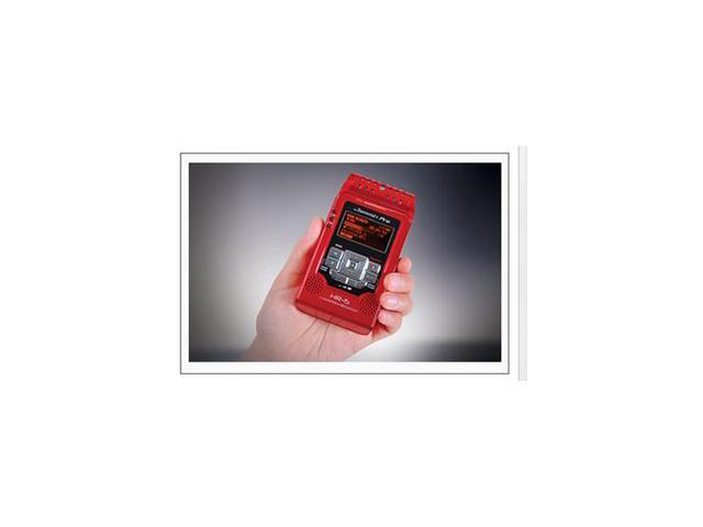 DJ TECH HR5 RED PRO DIGITAL PORTABLE AUDIO RECORDER SD