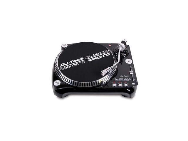 DJ TECH SLBD-1000 USB BELT DRIVE DJ TURNTABLE
