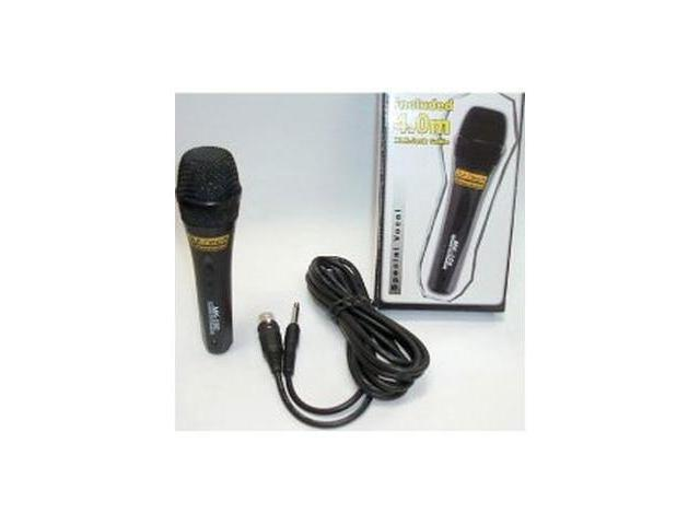 DJ TECH MK-100 DJTECH SUPER WIRED MICROPHONE MIC CABLE