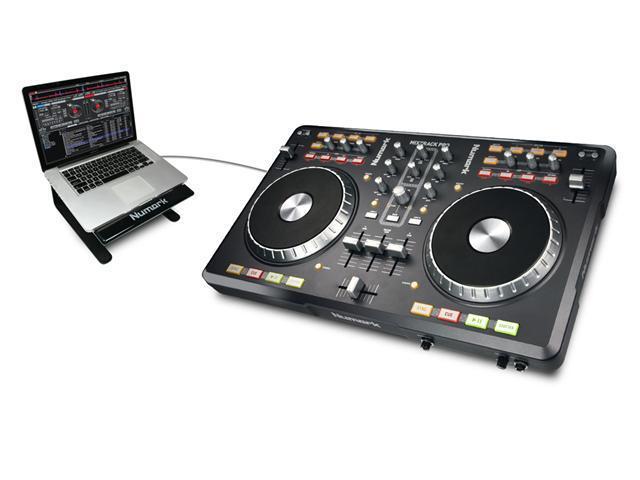 Numark Mixtrack Pro DJ Controller with I/O DJ Software Computer Controller & I/O Package