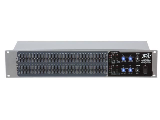 Peavey PV 231EQ Dual 31 Band Equalizer