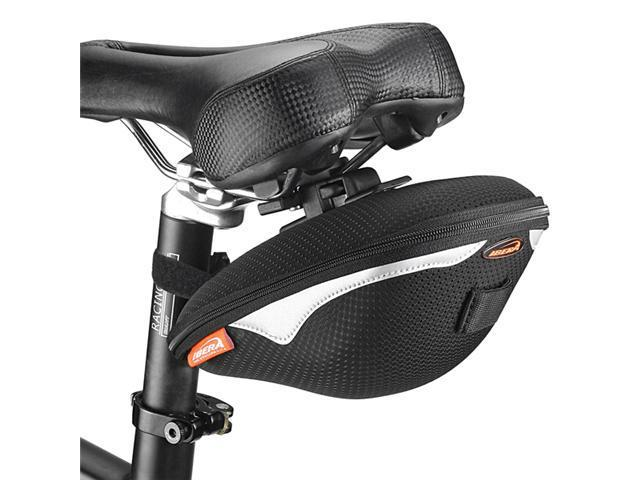 Ibera Bicycle Clip-On Saddle Bag, 1.5L