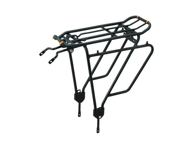 Ibera PakRak Bicycle Touring Carrier Plus+ IB-RA4, Frame Mounted for Heavier Top and Side Loads