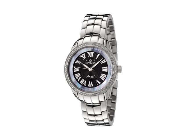 Women's Invicta 611 Angel Diamond Stainless Steel Watch