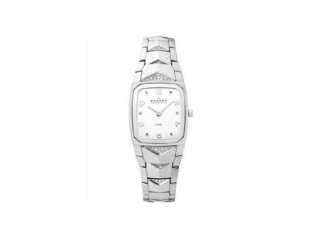 Skagen Steel Collection Silver-Tone Dial Women's Watch #811SSX