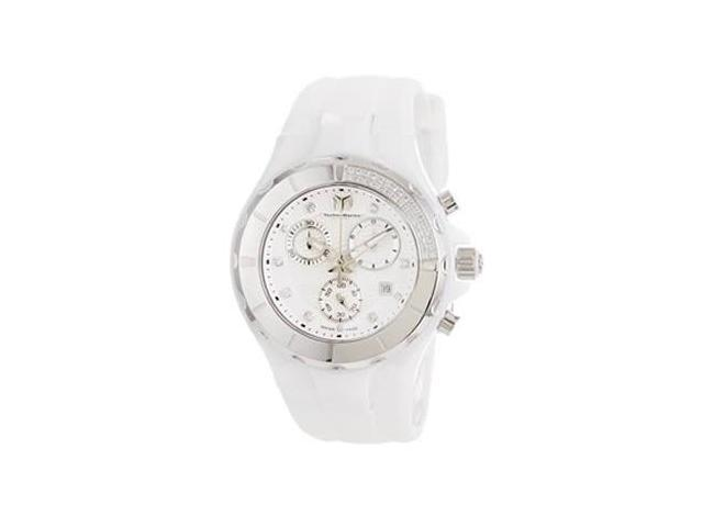 Technomarine Cruise Ceramic White Dial Chronograph Unisex Watch 110031