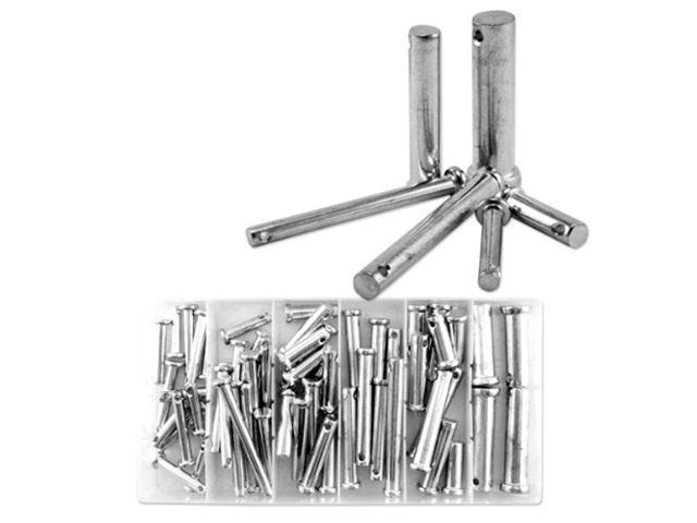 Neiko Clevis Pin Assortment - 60 Pieces - SAE