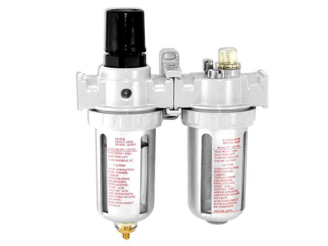 FRL Air Prep Unit - Filter-Regulate-Lubricate