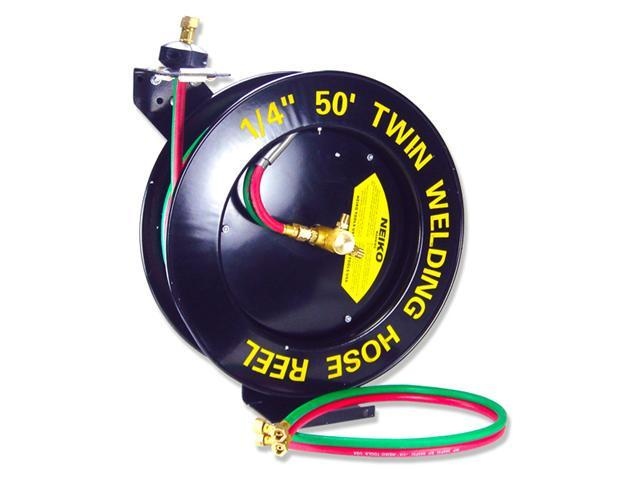Neiko inch ft welding hose with reel newegg
