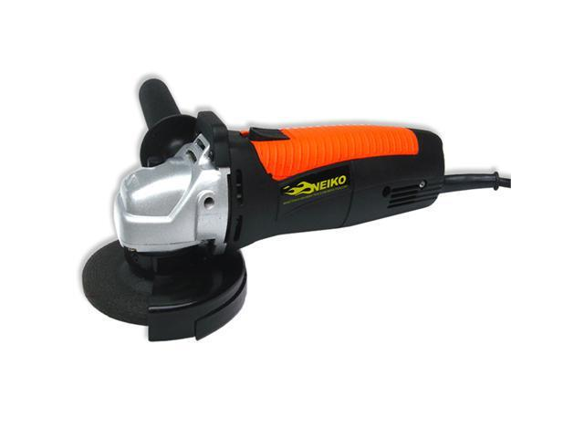 Neiko 4-1/2-Inch Angle Grinder with Abrasive Wheel, 6.8 amp/ 11,000 rpm