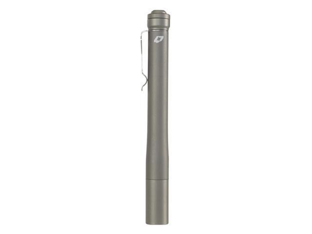 FOURSEVENS Preon P2 Ultracompact Flashlight, Satin Titanium Finish/Cool White LED