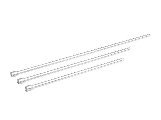 Tooluxe Extra Long Extension Bar, 3/8-Inch Dr, 3-Piece, 18, 24, 30-Inch