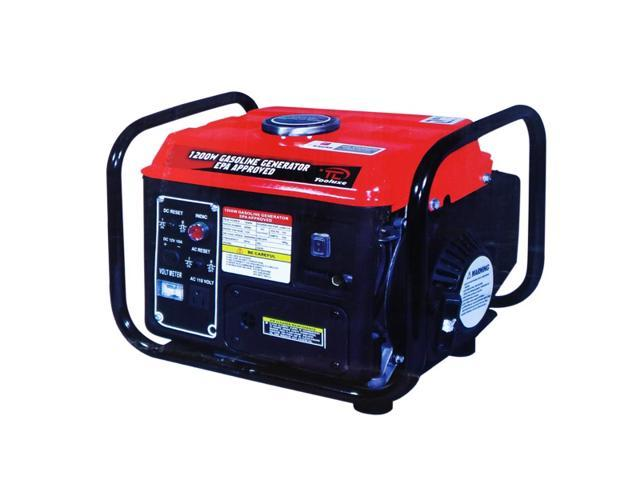 Tooluxe 61156L 1200-Watt Gas Powered Portable Generator