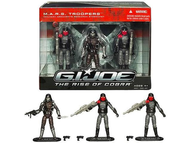 GI Joe The Rise of Cobra M.A.R.S. Troopers Figure Pack