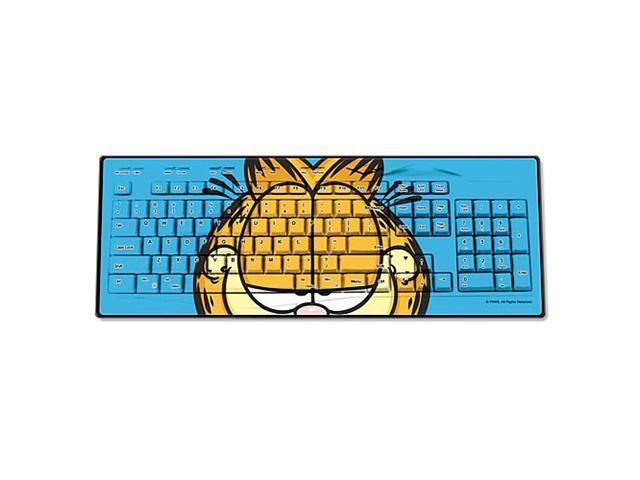 Garfield Face Wired Keyboard