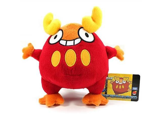 Pokemon Best Wishes 6-Inch Darumaka Plush