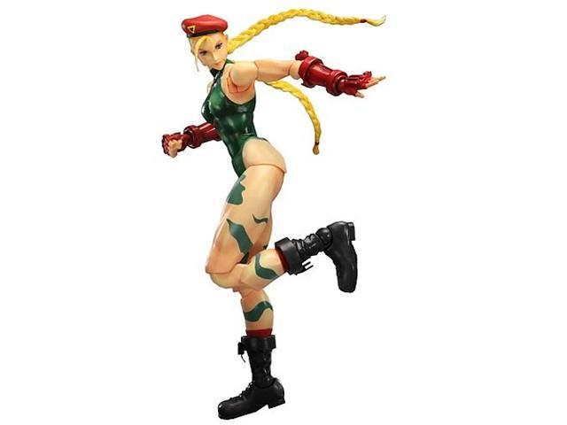Super Street Fighter IV Cammy Play Arts Kai Figure