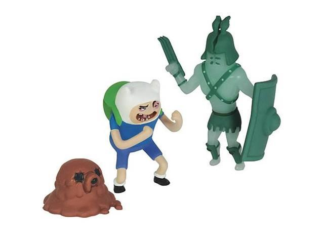 Adventure Time Gladiator Pack Ghost & Finn Action Figures