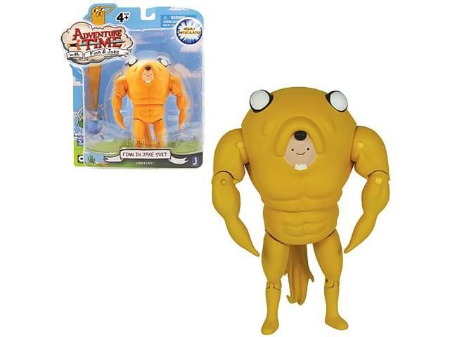 Adventure Time 5-Inch Finn in a Jake Suit Action Figure