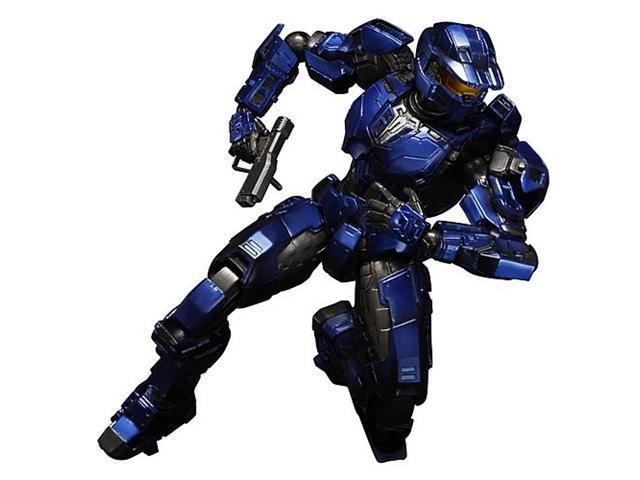 Halo Combat Evolved Blue Spartan Mark V Play Arts Kai Figure