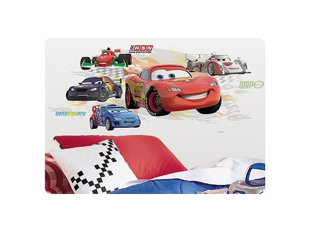 cars lightning mcqueen collage wall sticker newegg com lightning mcqueen wall stickers new ebay