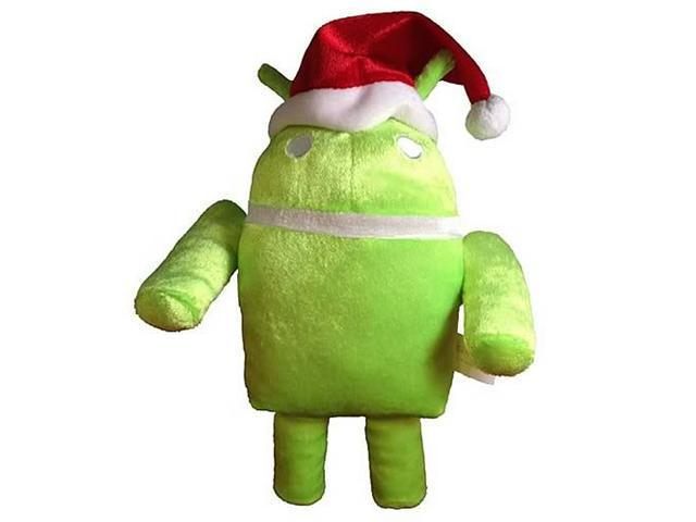 Google Android Santa OS Ganndroid 6-Inch Plush