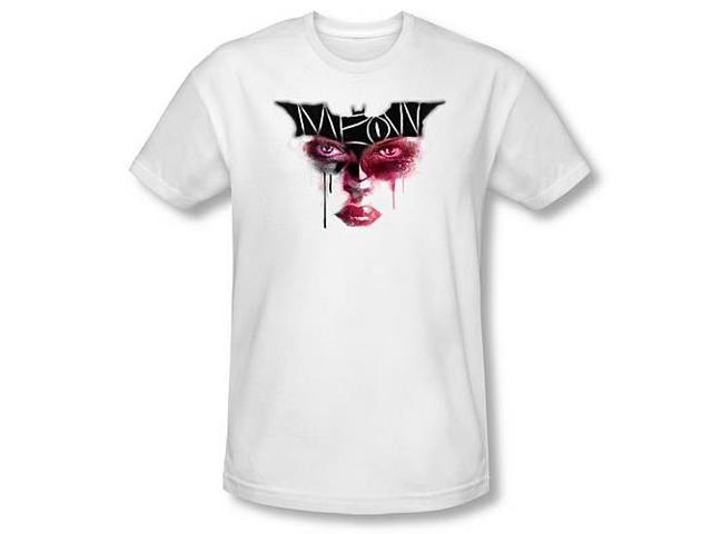 Batman Dark Knight Rises Meow White T-Shirt