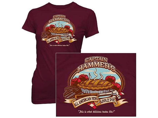Dr. Horrible's Sing-Along Blog Hammer Apple Pie Jrs. T-Shirt