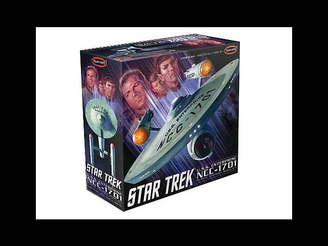 Star Trek Original Series NCC-1701 1:350 Scale Model Kit