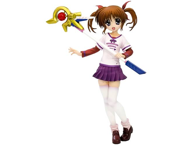 Magical Lyrical Nanoha Takamachi Everyday Version Statue