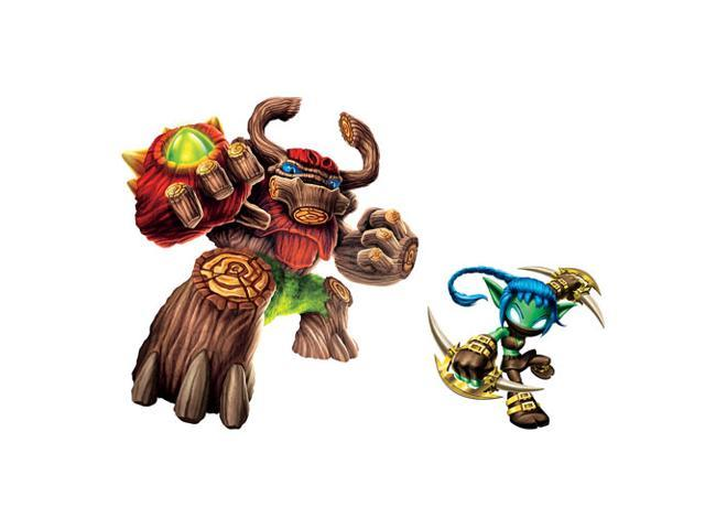 Skylanders Giants Tree Rex and Stealth Elf Giant Wall Decals