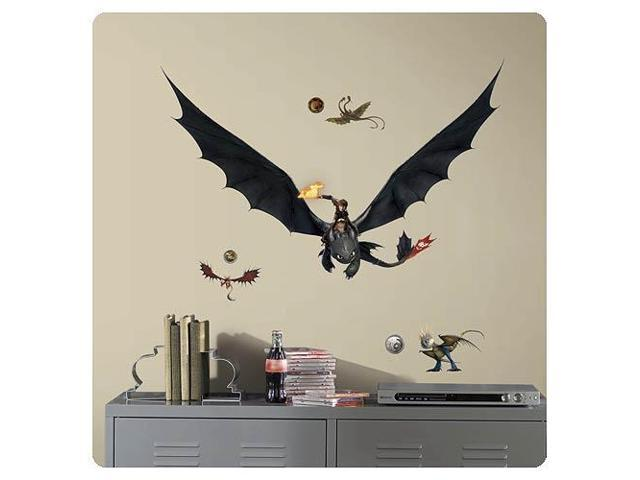 How to Train Your Dragon 2 Hiccup and Toothless Wall Decal