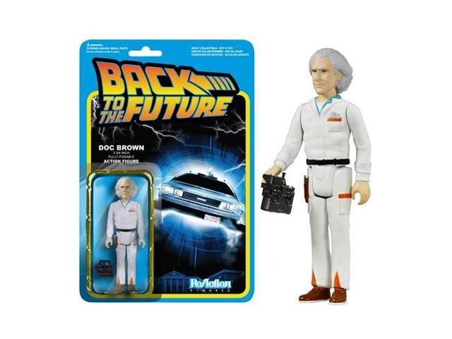 Back to the Future Doc Emmett ReAction Figure by Funko