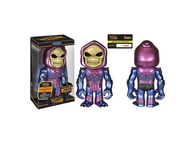 Masters of Universe Metallic Skeletor Hikari Vinyl Figure