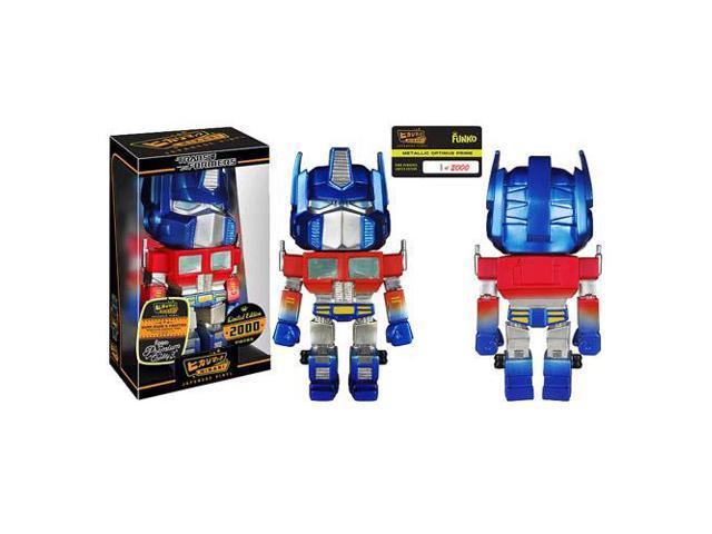 Transformers Metallic Optimus Prime Hikari Vinyl Figure