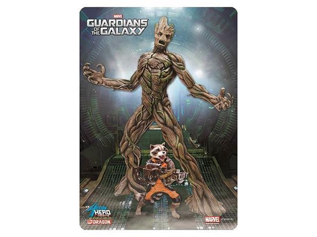 Guardians Galaxy Groot with Rocket Racoon AHV Model Kit