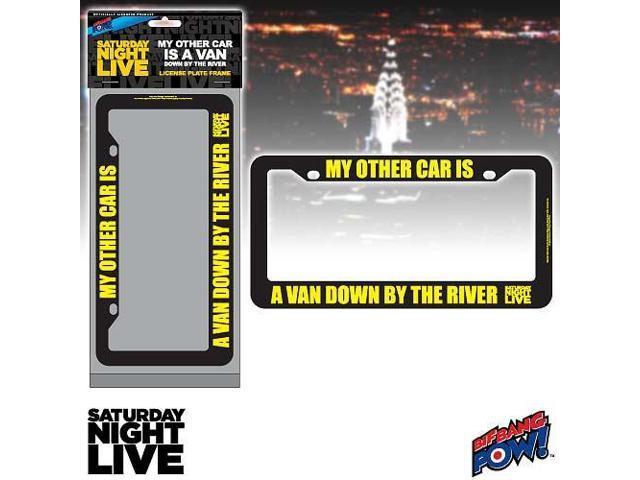 SNL Matt Foley My Other Car Is A Van License Plate Frame