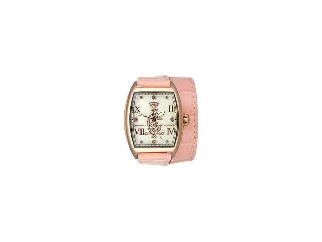 Christian Audigier Analog Collection Entice-Pink Mother-of-pearl Dial Women's watch #SPE-618