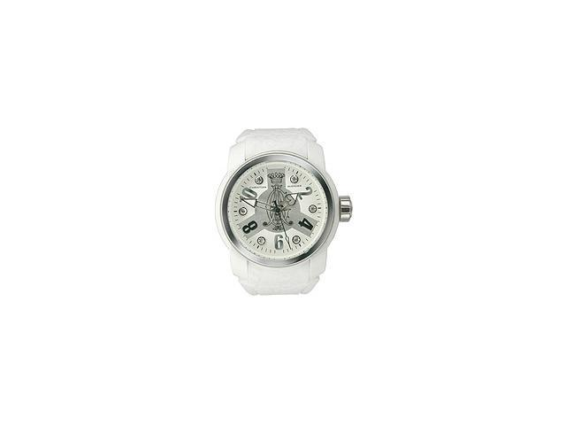 Christian Audigier Intensity Collection White Valve White Dial Womens watch #INT317