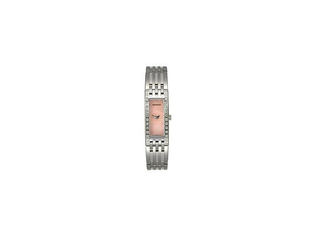 Movado Esperanza Baguette Case Pink Mother-of-pearl Dial Womens watch #606299