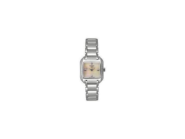 Tissot Women's T-Trend T-Wave White Diamond Stainless Steel