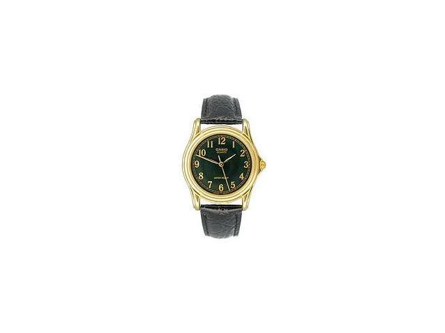 Casio Men's Leather Strap watch #MTP-1096Q-1B