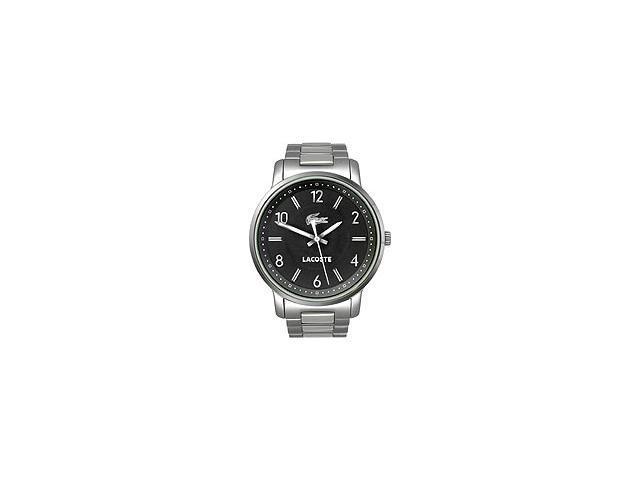 Lacoste Sportswear Collection Calvi Steel Bracelet Black Dial Women's watch #2000629