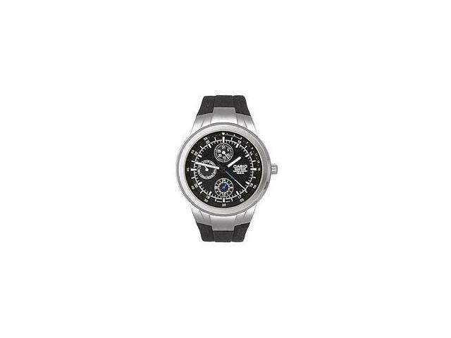 Casio EF305-1AV Men's Multi Dial 3-Hand Analog Edifice Watch w/ Resin Band