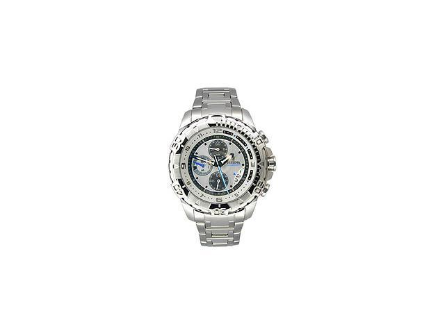 Festina Steel Collection Chronograph Brushed Silver Dial Men's watch #F16358/1