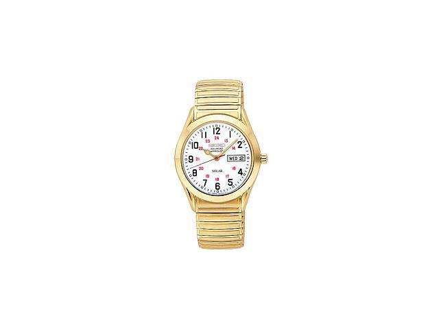 Seiko Expansion Bracelet White Dial Men's Watch #SNE064