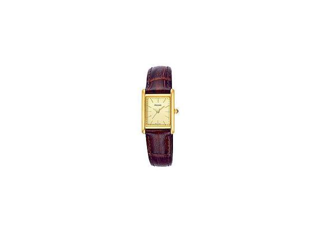Pulsar Women's Leather Strap Collection watch #PTC386