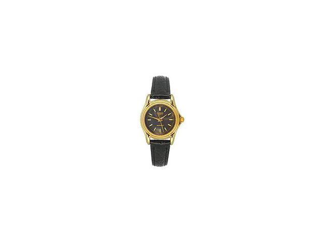 Casio Women's Leather Strap watch #LTP-1096Q-1A