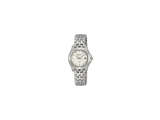 Seiko Diamonds Bracelet Mother-of-pearl Dial Women's watch #SXDC11