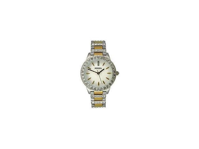Fossil Crystal Two-tone Ladies Watch ES2409